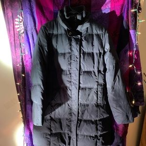 GAP Coldcontrol Puffer Trench Coat